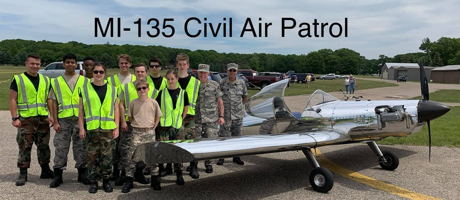 Cadets assist at airport fly in